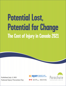 Injuries divert essential hospital resources and cost Canadian residents $29.4 billion annually